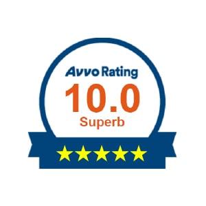Avvo 10 Rating Logo