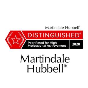 Martindale Distinguished Logo