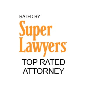 Super Lawyers Top Rated Attorney Logo